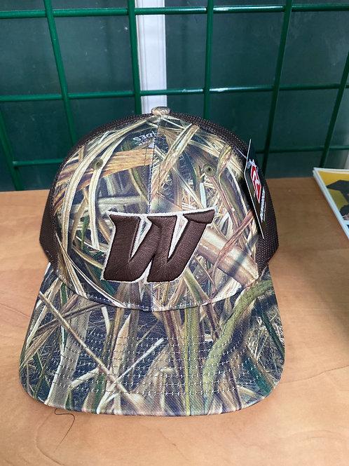 Camo/Brown Trucker Hat