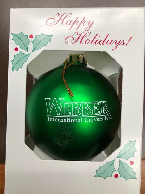 Webber Christmas Ornament