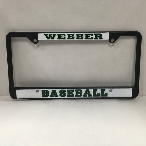 Baseball License Plate Frame
