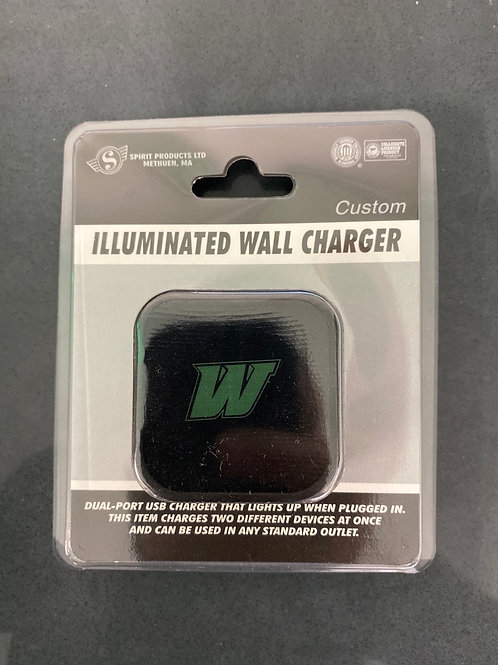 Illuminated Wall Charger