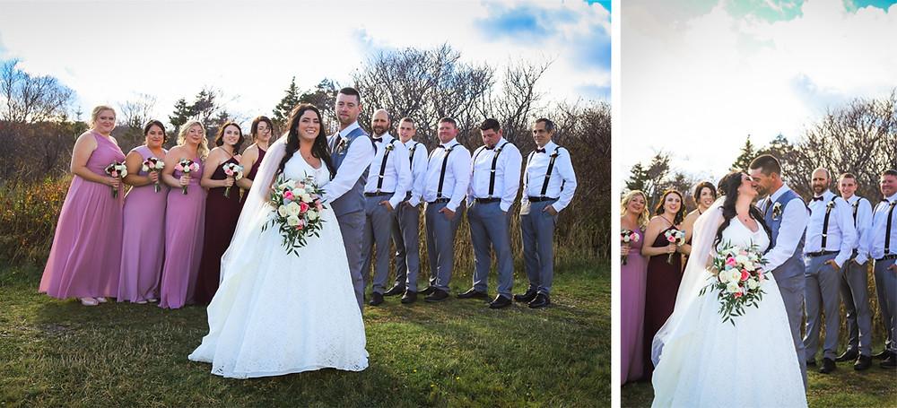 Bridal Party Photos - Halifax Photographer