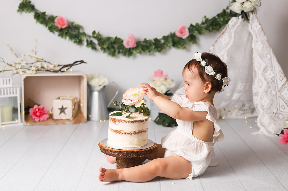 Boho Girl Cake Smash