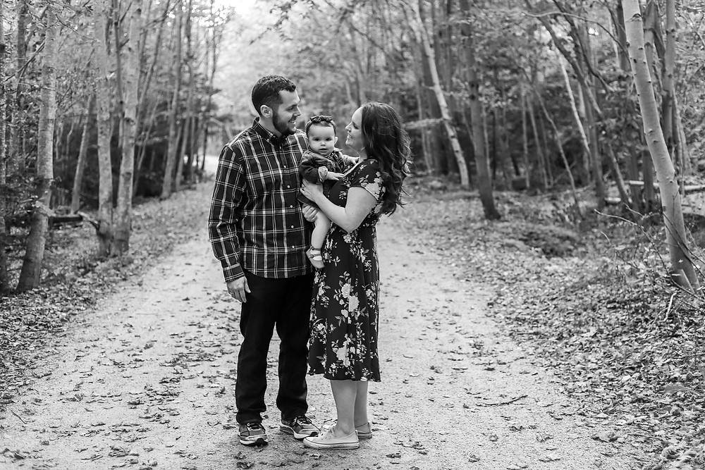 Family Photo Session on Rails To Trails