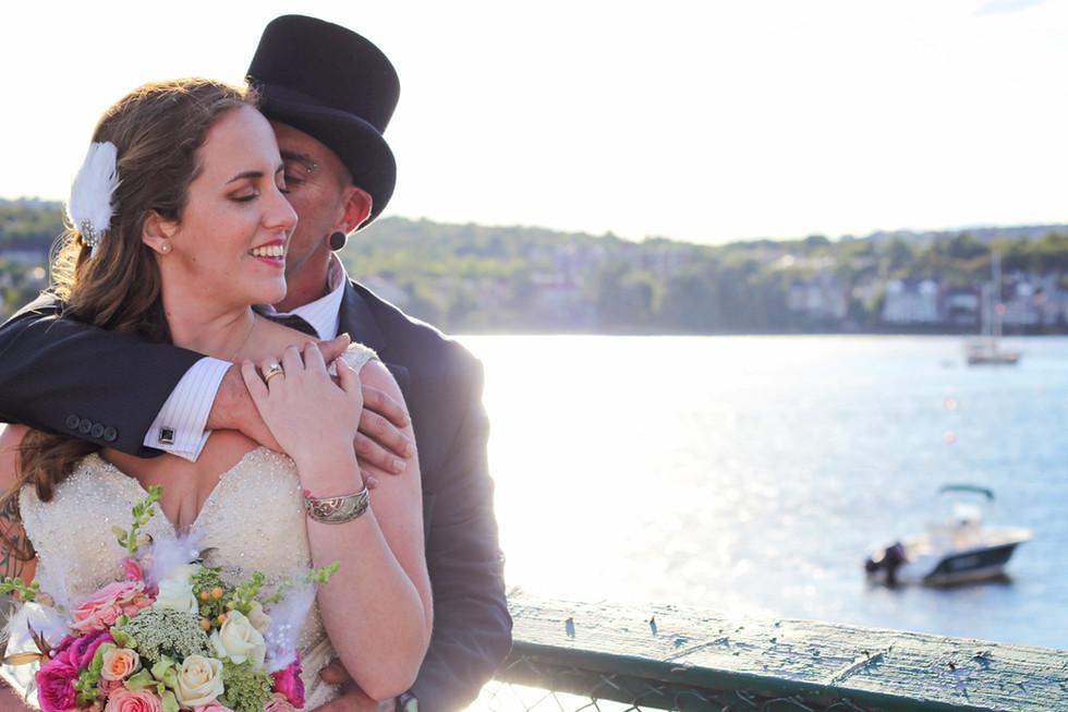 Tia & Jay ~ A St. Mary's Boat Club Wedding ~ Halifax Wedding Photographer