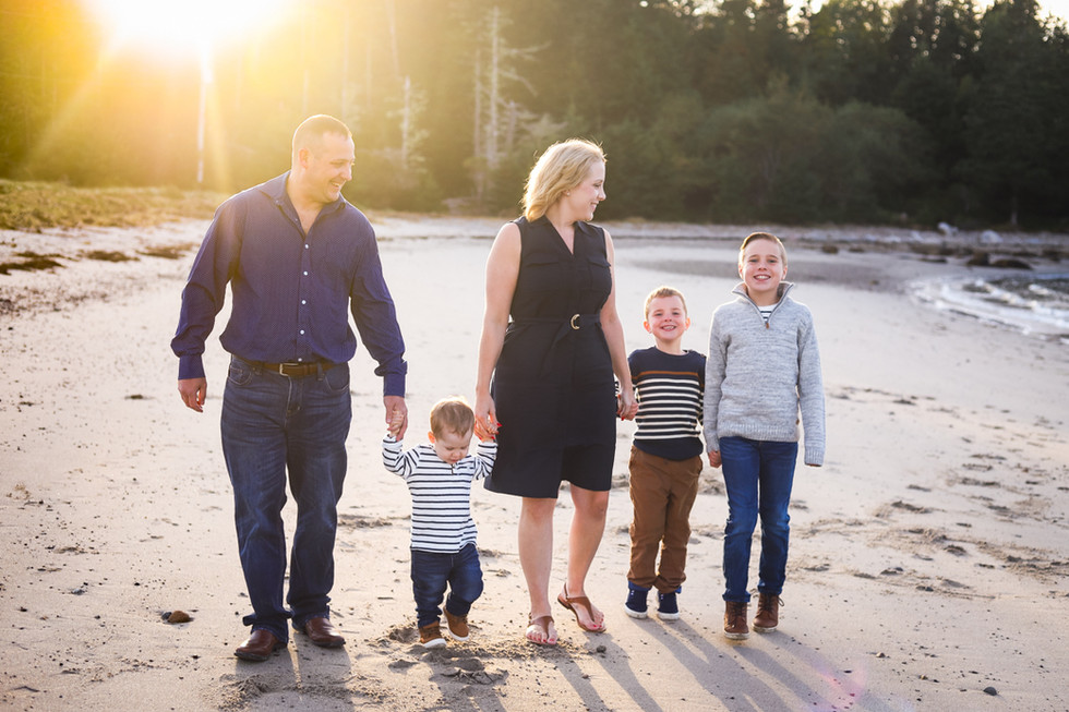Ashley and Grant - A Micou's Island Family Session