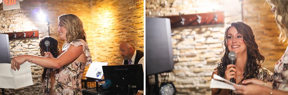 Speech Photos - Shuck Restaurant Wedding