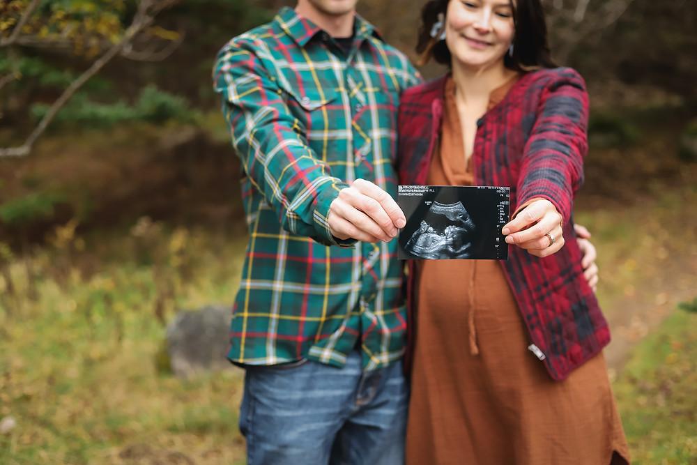 Maternity Session Ultrasound Photo