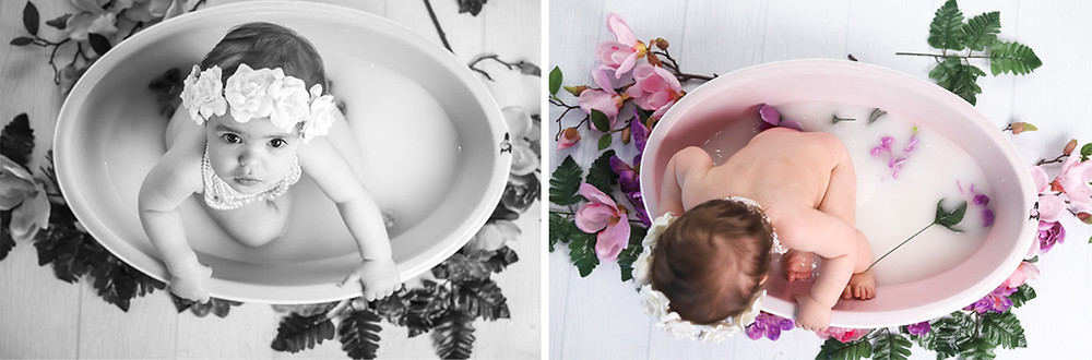 Cake Smash and Bath Photo Session