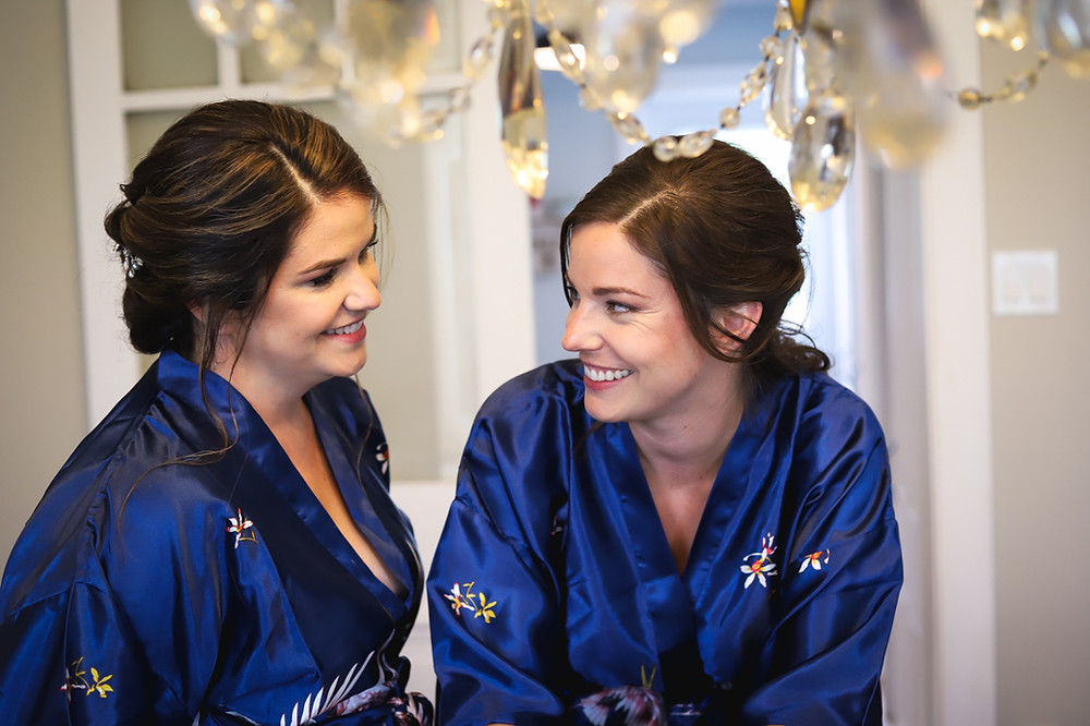 Bride and Maid Of Honour Photo
