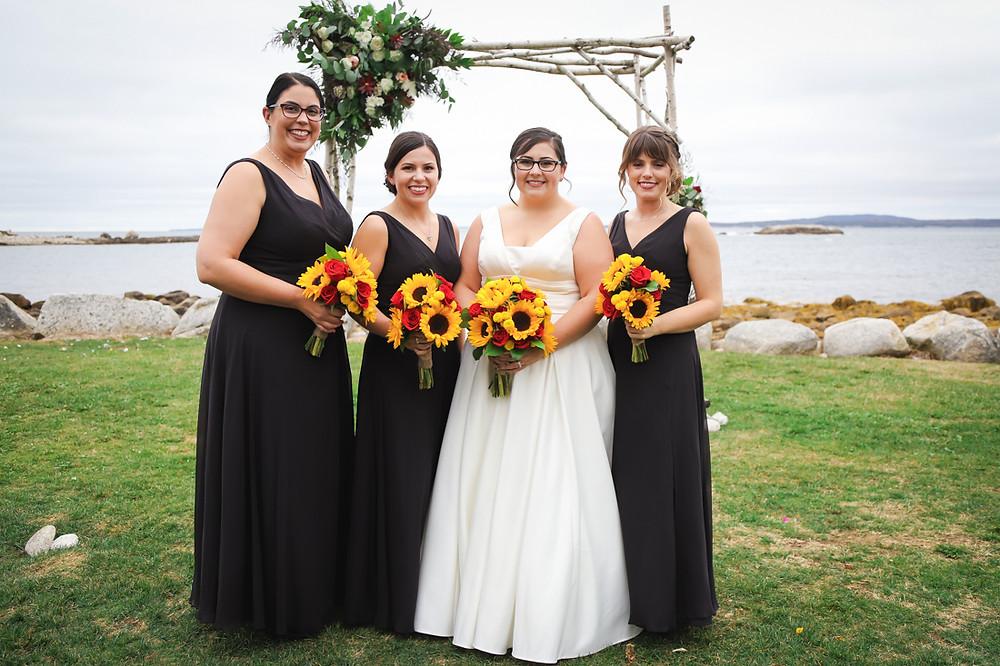 Bridesmaids Portraits Halifax