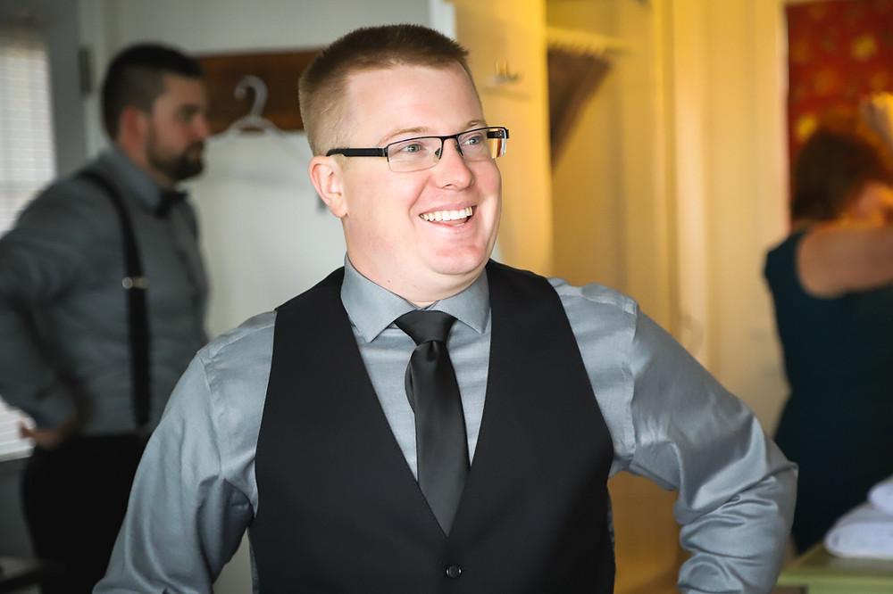 Groom Prep - NS Wedding Photographer