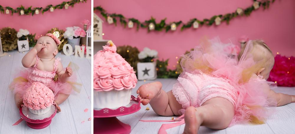 Pink Cake Smash Halifax