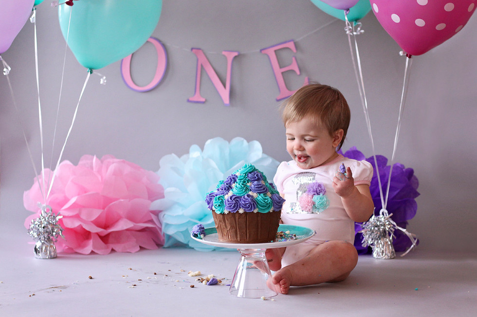 Abby turns One! Halifax Cake Smash Photographer