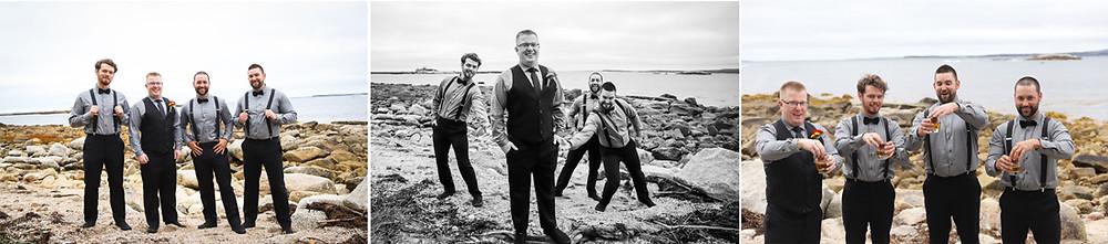 Groom and Groomsmen Photography Halifax
