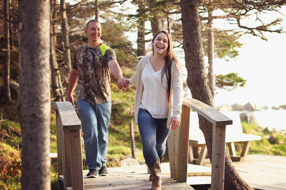 Randy & Hillary - Halifax Engagement Photographer