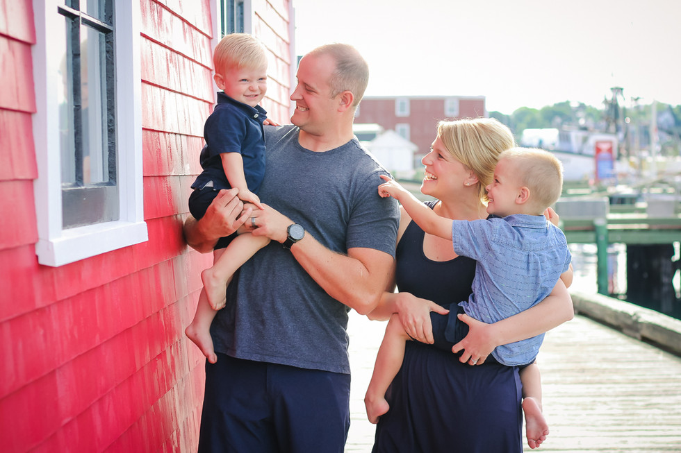 The Daly Family - A Lunenburg Family Session
