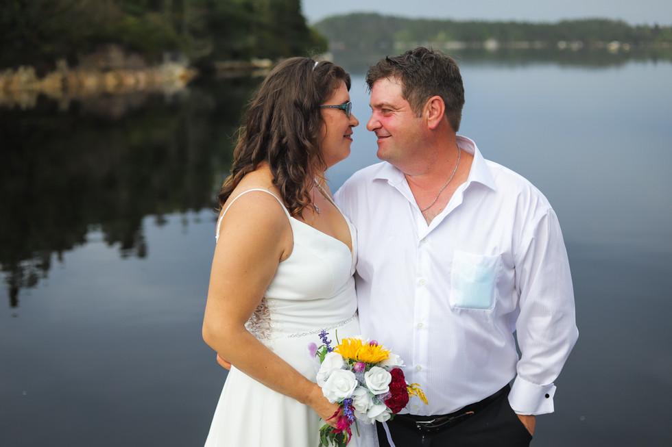 Janet + Craig - A Coastal Wedding in Indian Harbour