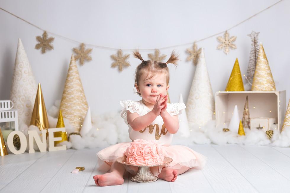 Stella Turns One! Halifax Cake Smash Photographer