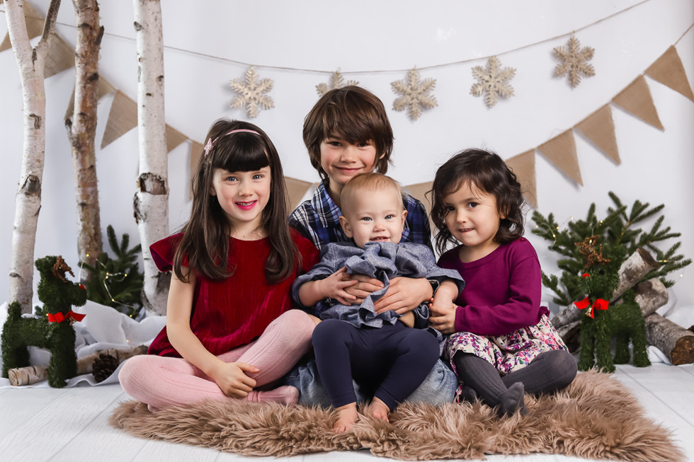 The Yips - A Winter Wonderland Studio Session -Halifax Family Photographer