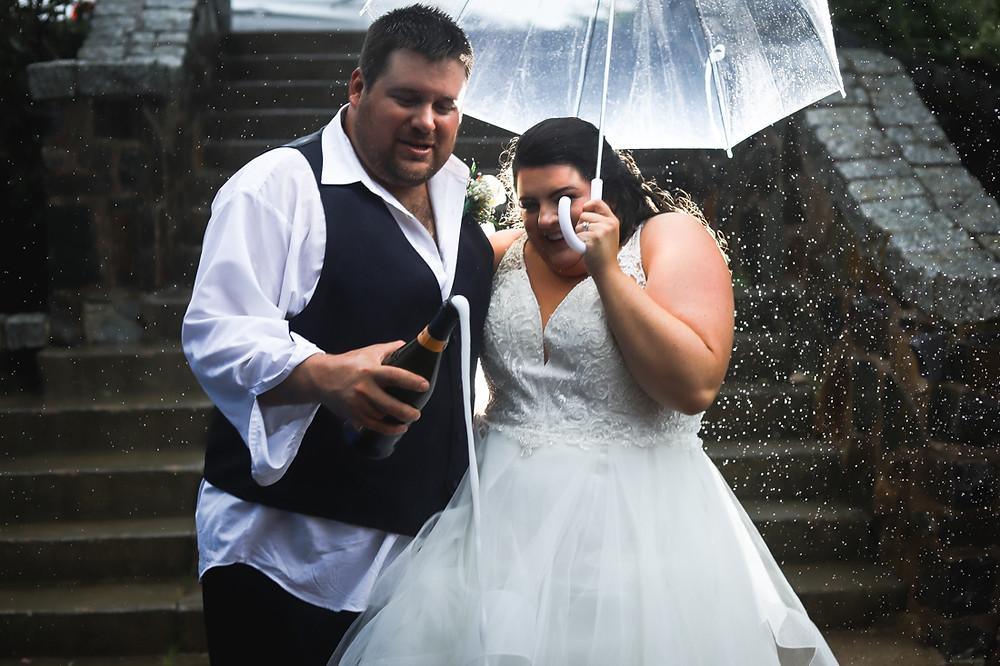 Hurricane Dorian Wedding