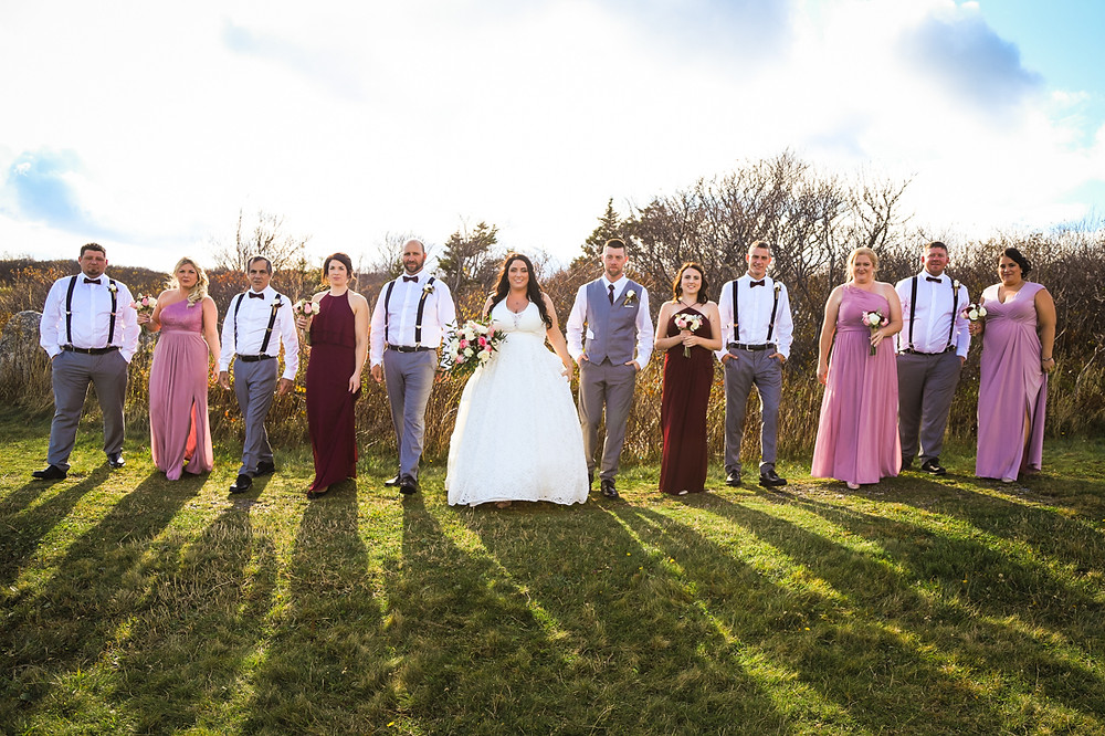 Halifax Wedding Photographer - Bridal Party Photos