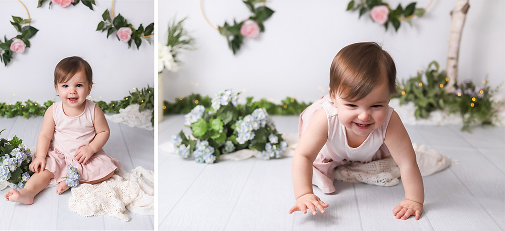One Year Old Portrait Session