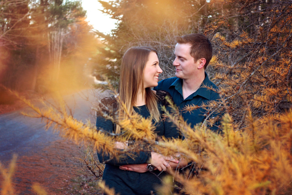 Lindsay & Brent - A Bluff Trail Engagement Session - Halifax Engagement Photographer
