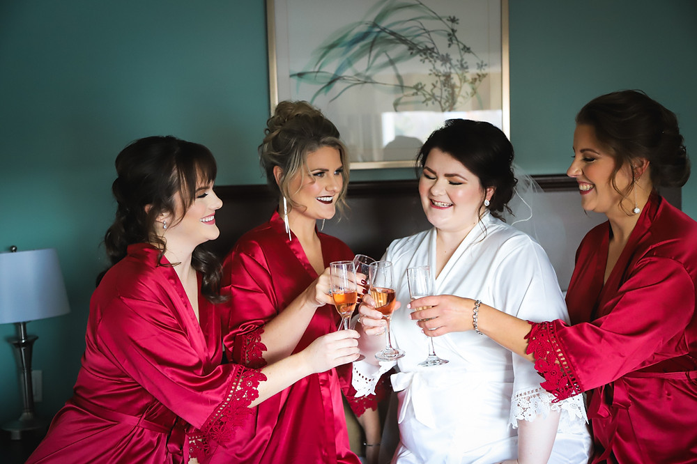 Bride and Bridesmaids - Halifax Wedding Photography
