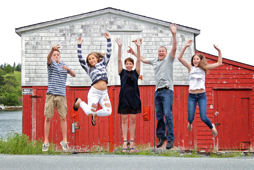 The Davidsons - Halifax Family Photographer