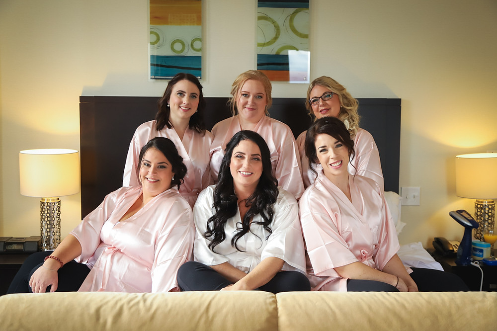 Bride and Bridesmaids - Halifax Photographer
