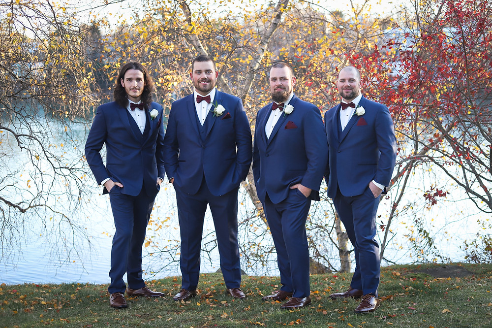 Groom and Groomsmen - Halifax Wedding