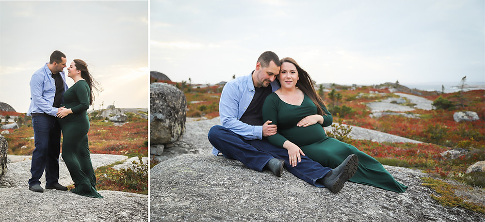 Polly's Cove Maternity Session