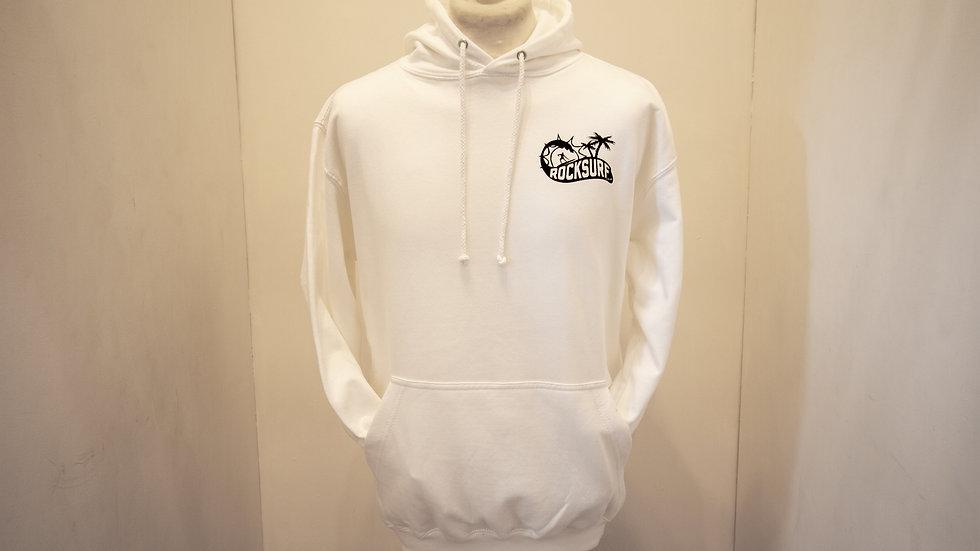 RockSurf Premium Hoodie- White