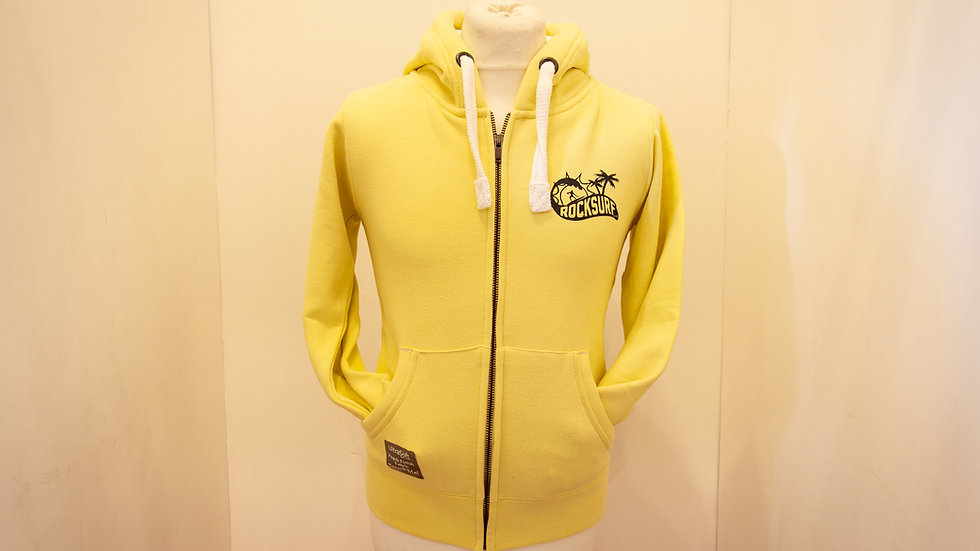 RockSurf Premium Hoodie- Yellow