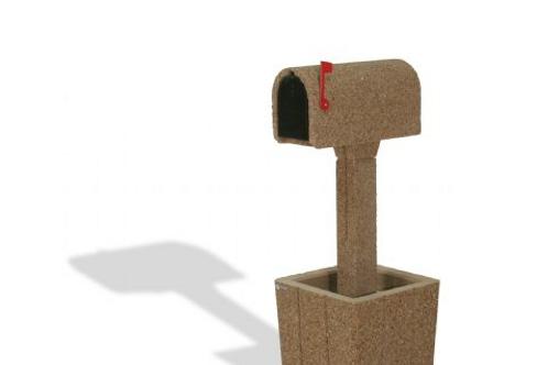 Bolhmann Concrete Mailbox