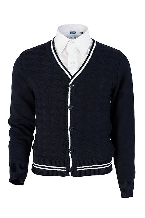 Кардиган синий, серый, черный № 32