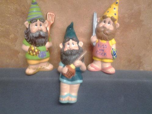 Bar-B-Q  gnomes