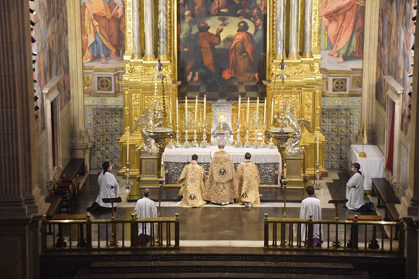 Octava del Corpus 2021 en El Patriarca