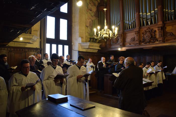 Imagen del Coro en los laudes