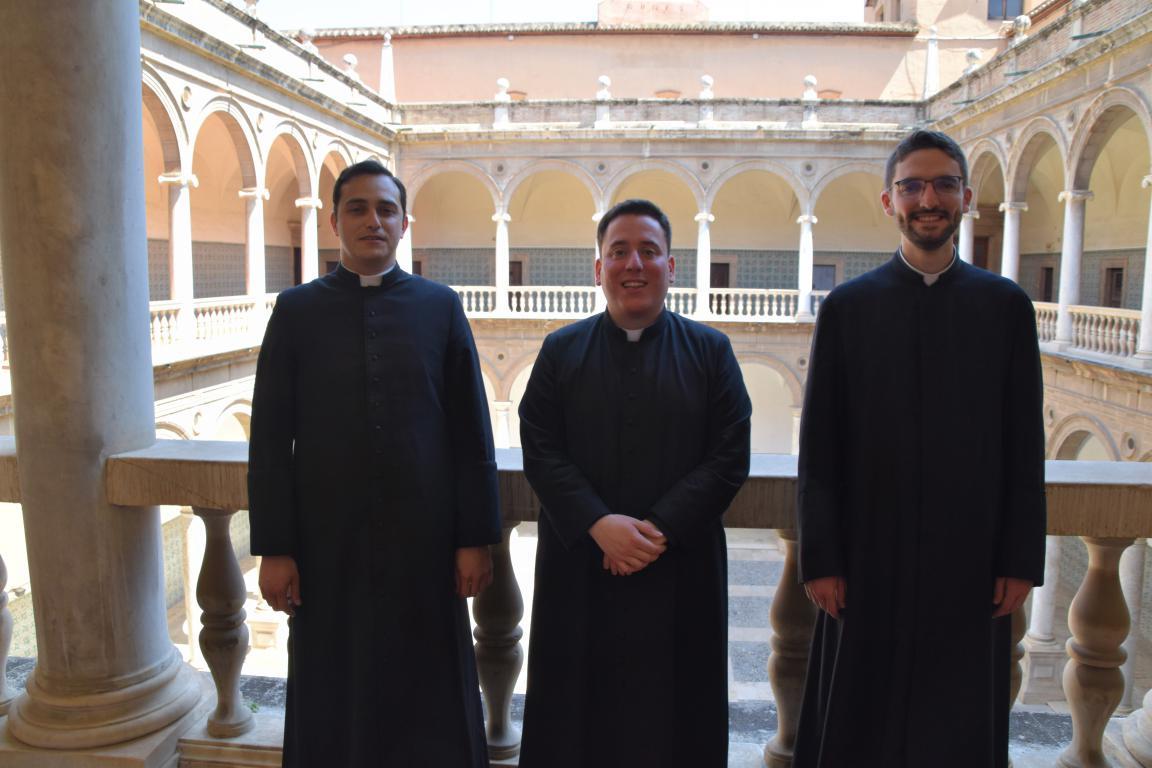 Eloy Costa, Carlos Camallonga y Vicente Planells