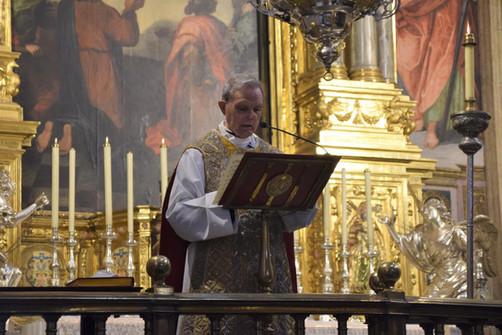 Juan José Garrido, rector de El Patriarca
