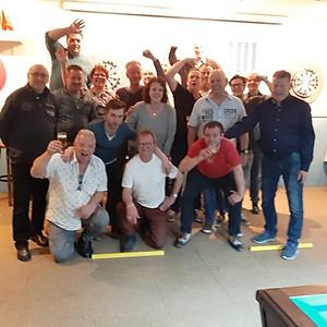 Biljart-Darts toernooi 2019