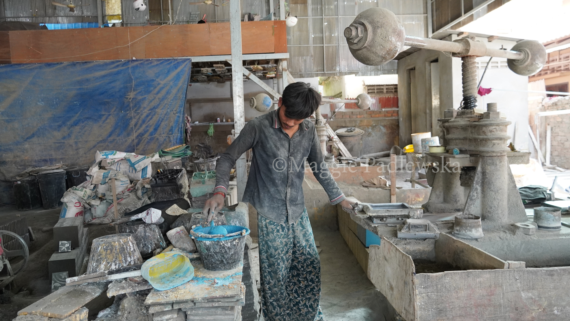 Traditional Tile Maker - CAMBODIA
