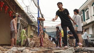 Siem Reap UNDER CONSTRUCTION (Photos FEB.09.21)