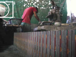 VIDEO: Painted Tile Workshop / Siem Reap, Cambodia