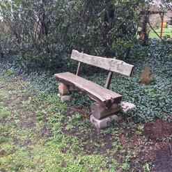 С этой скамейки роскошный вид на Маас
