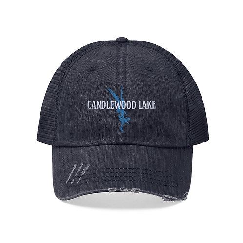 Candlewood Lake Unisex Trucker Hat