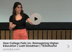 TEDx Talk: October 2019