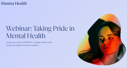 Taking pride in mental health: An LGBTQIA+ webinar