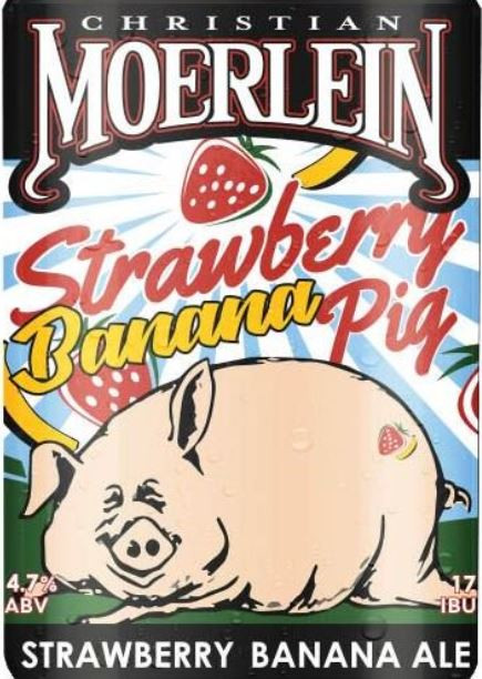 Moerlein Strawberry Banana Pig